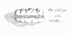 Ceci n'est pas une rosette (iastudio) Tags: shadow illustration bread mechanical drawing clockwork mechanism rosetta pencildrawing marzano clockparts mechanicalbread
