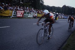 1982 World Cycling Champ007 (Tim Callaghan) Tags: cycling jones 1982 bikes flags kelly 35mmslides roads crowds goodwood lemond saroni worldroadracechampionships