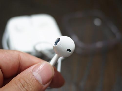 iPhone5s イヤホンの形状