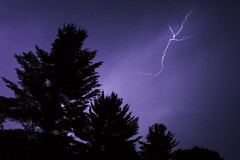 Light 6 (wanderingschnaars) Tags: adirondacks adk sony alpha a6000 lightning thunder storm night canon photography nature trees light sky natgeo national geographic