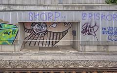 Goalkeeper (Herbalizer) Tags: goalkeeper graffiti vienna wien austria ellasso line bb trackside wiener linie sterreich