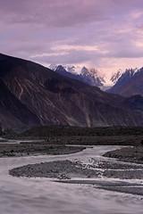 Kaiser's Polo Ground: Biafo River and distant peaks (Shahid Durrani) Tags: biafo glacier karakorams gilgit baltistan pakistan
