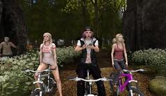 NCH Camp 2016 (Dahlia Kane) Tags: teen camp nch northcrest high school girls bike friends buddies buddy bycicle path 3 second life sl virtual world avatar avis tresblah blueberry