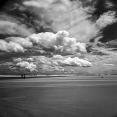 After the Storm (Tony__K) Tags: hasselblad 500cm adox cms ii 20 iso20 jacksonville jax jaxbeach jacksonvillebeach contrast blackandwhite bw beach florida clouds nature drama 120 film 6x6 mediumformat mf