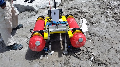 T100s on USV in Nepal at 15,400ft altitude! (Credit: Patrick Rowe)