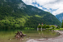 DSC_3895 (svetlana.koshchy) Tags: germany berchtesgadener land berchtesgaden landscape bavaria bayern alps alpen deutschland clouds reflection mountain knigssee outdoor