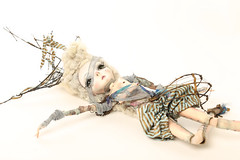 Ondine (fantoche art dolls) Tags: fantoche oana micu art dolls papusi objects theatrical costumes doll stand scenography magical nostalgia