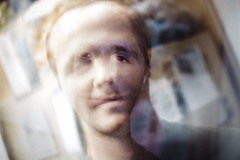 Untitled (reinfected) Tags: person man abstract weird obscure distort distortion alien portrait swirl