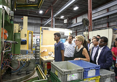 IMG_1124  Premier Kathleen Wynne toured RAM Plastics in Scarborough. (Ontario Liberal Caucus) Tags: scarborough industry thiru smallbusiness business