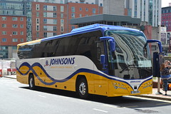 Johnsons YX16NYC (Will Swain) Tags: birmingham 22nd july 2016 bus buses transport travel uk britain vehicle vehicles county country england english west midland midlands city centre johnsons yx16nyc henley arden