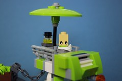 The Veranda (Deltassius) Tags: tequilatron lego space mech mecha microscale robot pleasurecraft tequila lime frame mfz