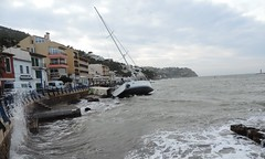 Emma in danger (Lachezar G.) Tags: ship schif barco mar sea illesbalears baleares mallorca islademallorca