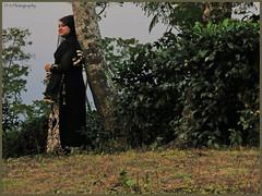 Tea Plantation, Srimangal, Moulvibazar- Bangladesh (dark-dawud) Tags: lady woman tea plantation visitor moulvibazar bangladesh portrait asia asian earlyevening tree beauty beautiful smile happy pose srimangal sylhet