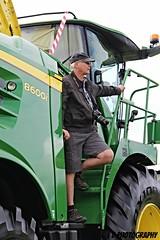 IMG_2293 (lesleydoubleday) Tags: johndeere johndeere50thcelebration tractor farming farmmachinery langar