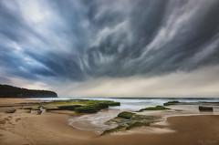 Late Textures (Crouchy69) Tags: sunrise dawn landscape seascape ocean sea water coast rocks clouds sky turimetta beach sydney australia