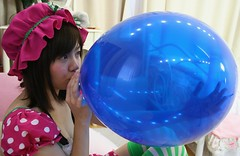 Look What Your True Blue (emotiroi auranaut) Tags: girl woman lady cute pretty lovely beauty beautiful play playing discovering discovery blow blowing blue toy balloon grow growing big bigger air breathe breathing talent talented nice sweet fun charming polkadots innocent innocence ambition ambitious large larger expand expanding squeak hat pink white adorable asia asian japan japanese careful carefully effort efforts round inflatable wonder wonderment fascinated fascination