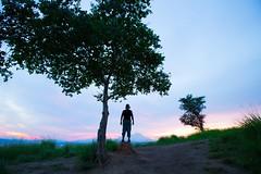 Man & Tree (Sharif Putra) Tags: people malaysia sabah tirig bukit hill sunrise borneo