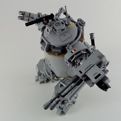 Semovente M47 Audax [vertical tank] (Marco Marozzi) Tags: lego legomech legodesign logomecha moc mech walker ww2 marco marozzi vertical tank