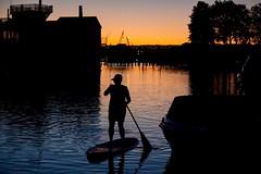 SUP-er Jules (ZnE's Dad) Tags: sup standuppaddleboard sunset oregon pdx pnw pacificnorthwest silhouette portlandor columbiaslough portland haydenisland