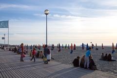 Deauville (Marco La Rosa) Tags: francia france francese french francoise normandie normandia summer estate deauville spiagga beach 60 70 sand sabbia lungomare shore festa show mare sea lido bagno