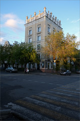 (Chess) (Kirill & K) Tags: city magnitogorsk evening autumn building street