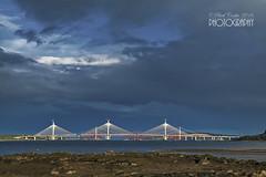 Forth bridges Edinburgh (pavel conka) Tags: forth bridge edinburgh scotland conka 2016 clouds blue