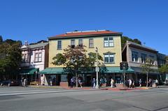 Sausalito Street Corner (Neal D) Tags: california sausalito building corner