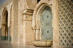 A prayer fountain outside the Hassan II Mosque, Casablanca (Jonmikel & Kat-YSNP) Tags: casablanca morocco march 2007