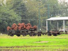 Wagon and weels in depot Bdzin (transport131) Tags: tram tramwaj t bdzin kzk gop wagon weels koa podwozie