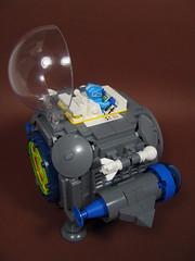 Cubic Cruiser (Karf Oohlu) Tags: lego moc minifig scifi spaceship cube