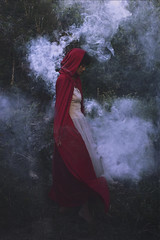 The Little Red Riding Hood (Erin Graboski) Tags: eringraboski eringraboskiphotography photography art artist fineartphotography fineart fineartconceptualphotography fineartportraiture portrait portraitphotography conceptual conceptualart conceptualportraitphotography conceptualportrait litteredridinghood model promotingpassion2016 brookeshadentexture smoke darkart fantasy fantasyphotography fairytale surreal surrealphotography forrest
