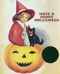Reference (bentwhisker) Tags: halloween reference inspiration countrystorehalloween witch blackcat pumpkin jackolantern
