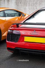 Audi R8 V10 Plus (jonnydouglas95) Tags: ferrari laferrari supercar horse power fast quick scotland laf red paul bailey performance portfolio youtube jonnykodak jonnydouglas jonathandouglasphotography photo cars hypercar awesome amazing experience