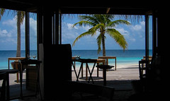 Fine day at Maldivs mirihi (sapphire_rouge) Tags: atoll   beach island coral resort mirihi sunset watervilla  tolopical lagoon maldives  mirihiisland