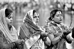 Chhath festival (susilsaurav) Tags: culture festival nepal blackwhite faces chhath