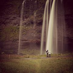 Iceland (rogilde - roberto la forgia) Tags: iceland islanda water cascata flow inlove amore love romantic romanticismo insieme togheter waterfall coppia unione double union couple