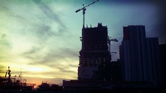 build in the morning (blink blank) Tags: morning travel sky holiday building landscape ship jakarta muara karang xmp vecation flickrandroidapp:filter=miami