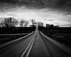paradise lane (Jen MacNeill) Tags: road blackandwhite bw rural pennsylvania pa strasburg lancastercounty streetscenes amishcountry flickrfriday paradiselane jennifermacneilltraylor jmacneilltraylor