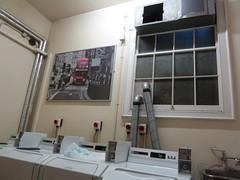 (jili'm **) Tags: london poster hostel laundry