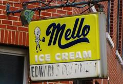 Mello Ice Cream (Gerry Dincher) Tags: northcarolina bladenboro bladencounty melloicecream edwardspharmacy pharmacy sodafountain mainstreet mappingmain railroadstreet yellow yellowyelloweverywhere gerrydincher