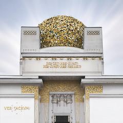 (EBcoro) Tags: vienna wien building architecture century joseph gold austria sterreich maria palace secession dome palazzo jugendstil olbrich viennese twentieth secessione