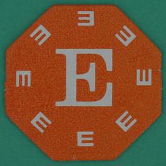 Octagram Orange Letter E (Leo Reynolds) Tags: canon eos iso100 e letter 60mm f80 letterset notoneletter 0125sec 40d hpexif 066ev xsquarex xleol30x