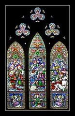 Window (haberlea) Tags: black church window glass architecture border gothic stainedglass medieval frame lichfield onblack lichfieldcathedral