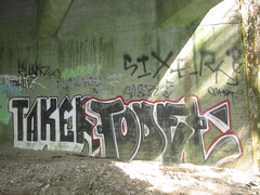 TAKER / TODEL (Same $hit Different Day) Tags: santa graffiti cruz todel taker