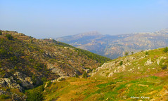 View from Hadath el Jebbeh - North Lebanon (Hanna Khoury) Tags: blue sky lebanon mountain landscape north calm valley pax pace paysage libano  nord calme liban paix   valle        hadath   aitou jebbeh