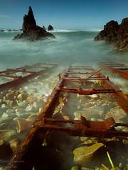 Desde la Orilla (Explore) (Tabernilla (David Izaguirre)) Tags: espaa david marina europa olympus andalucia explore e3 almeria zuiko cabodegata izaguirre davidizaguirre tabernilla lassirenas 1260mm prostop10