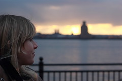 Looking at the Mersey (Chapter 43) Tags: liverpool canon 50mm gimp mersey albertdock d550 t2i