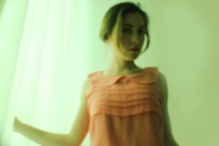(alara uraz) Tags: green girl model filter colored blury filtre