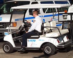 NYPD Police Transportation Cart, Yankee Stadium, Bronx, New York City (jag9889) Tags: nyc blue ny newyork car baseball stadium bronx police nypd vehicle yankees department lawenforcement patrol yankeestadium finest mlb firstresponders 2013 newyorkcitypolicedepartment newyankeestadium 161street pbbx jag9889