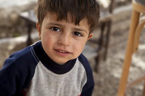 From flickr.com: Syrian Refugee by MaximilianV {MID-341700}